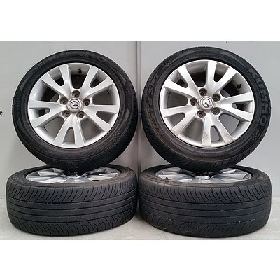 Set Of 16inch Wheels To Suit Mazda 6