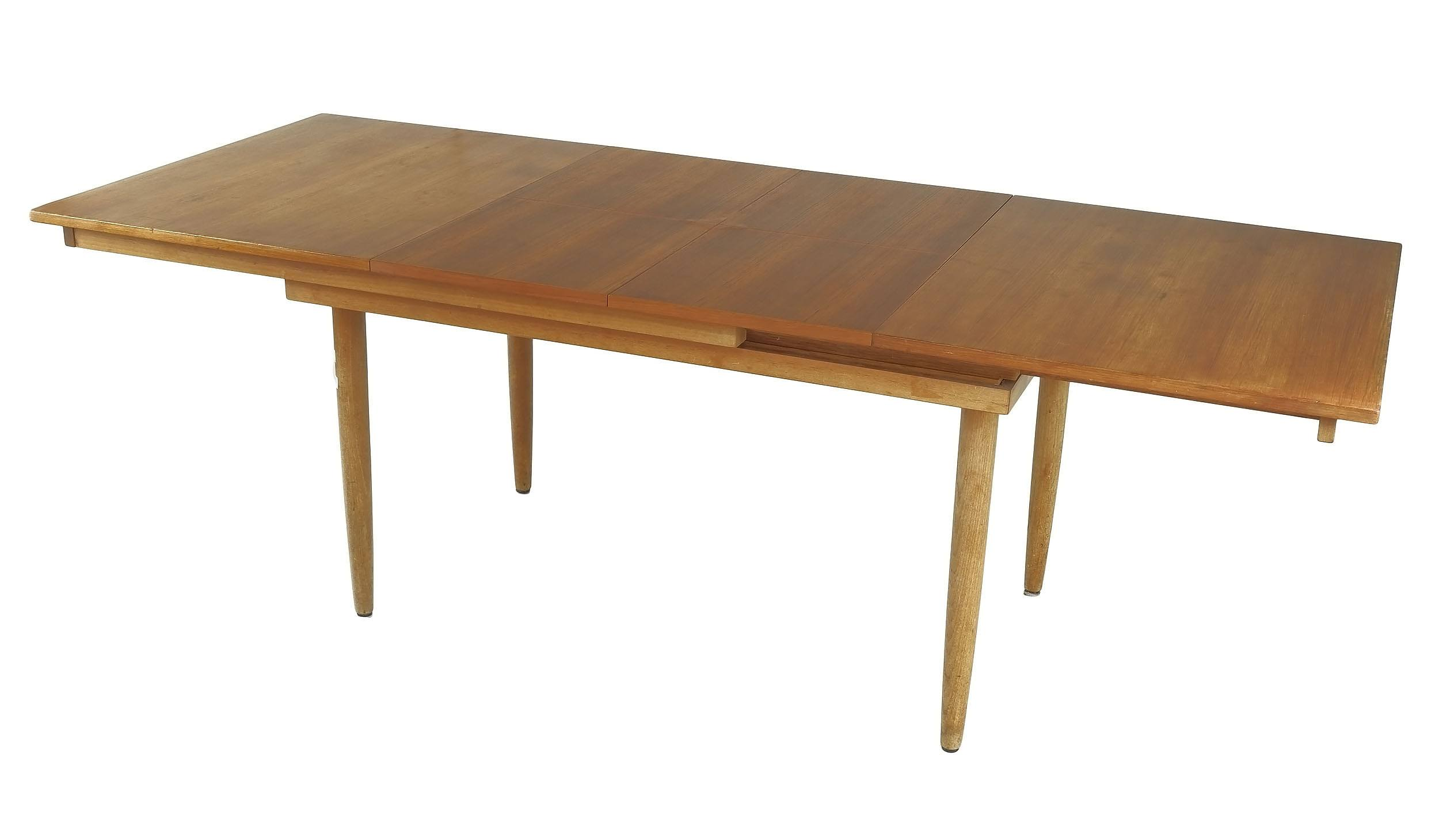'Chiswell Teak Twin Butterfly Extension Dining Table'