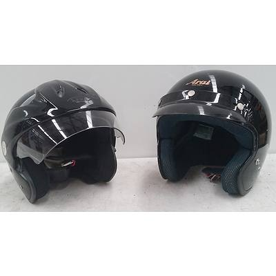 Zeus and Arai Motorcycle Helmets (2)