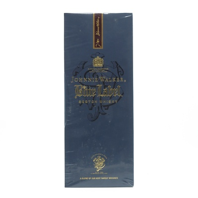 Johnnie Walker Blue Label Scotch Whiskey - 750ml New and Sealed in Original Box
