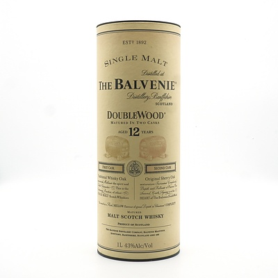 The Balvene Doublewood Single Malt Scotch Whiskey Aged 12 Years in Original Box