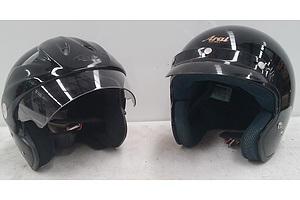 Zeus and Arai Motorcycle Helmets (2)