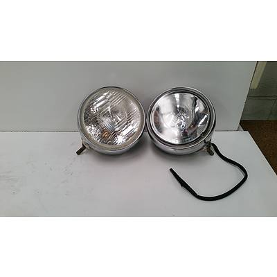 Pair Of Large Driving Lights