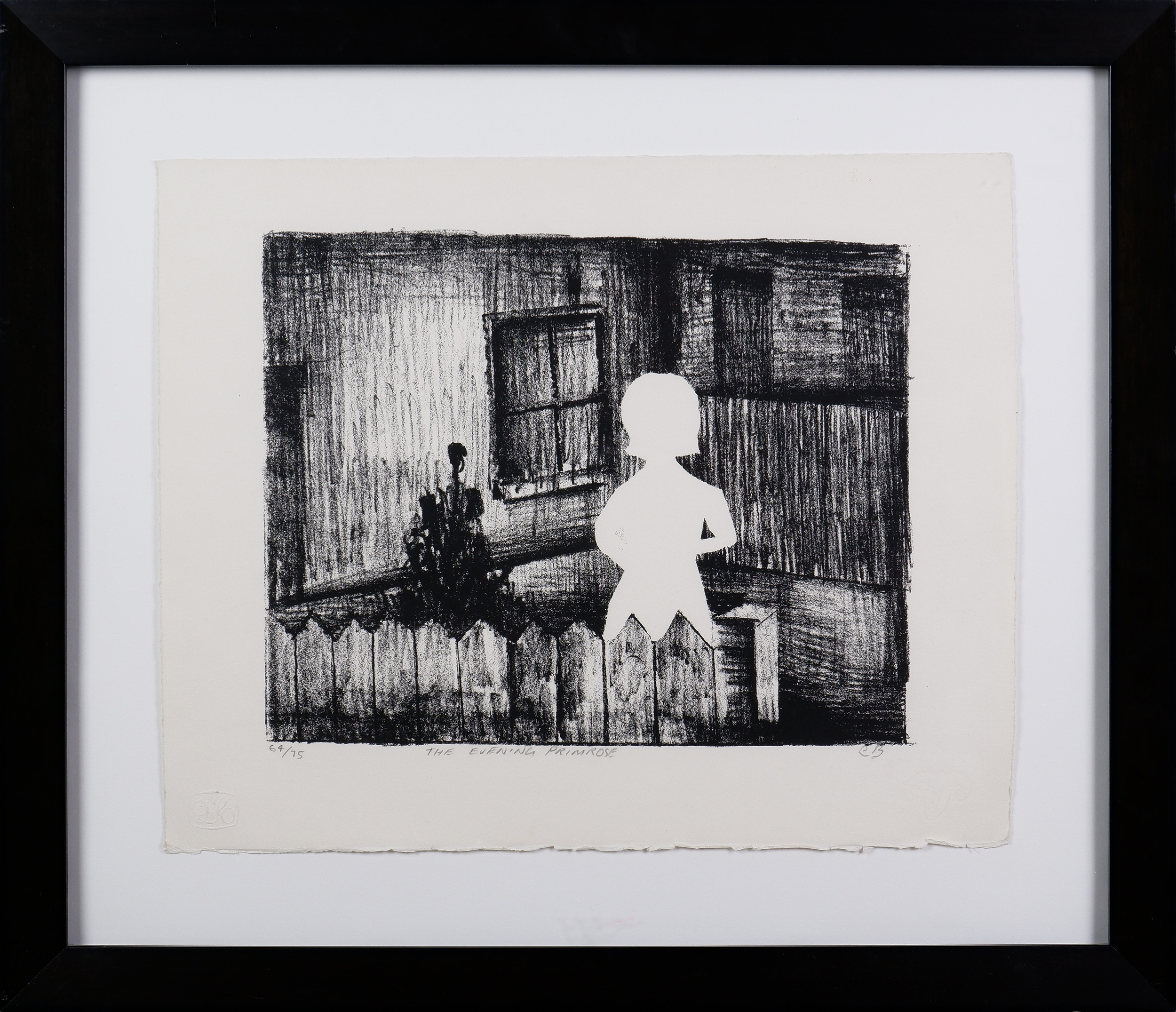 'Charles Blackman (1928-2018), Evening Primrose, Lithograph'