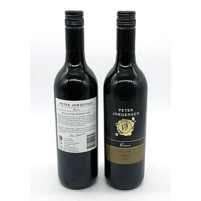Peter Jorgensen Reserve 2009 McLaren Vale Shiraz - Lot of Two Bottles (2)