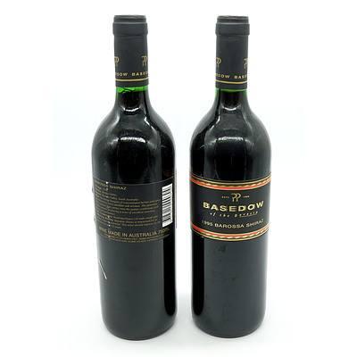 Basedow 1995 Barossa Shiraz - Lot of Two Bottles (2)