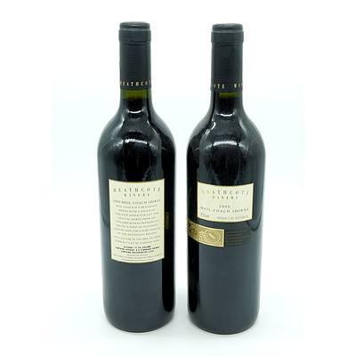 Heathcote Winery 2000 Mail Coach Shiraz - Lot of Two Bottles (2)