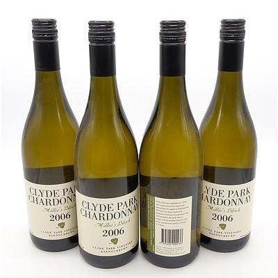 Clyde Park Millie's Stock 2006 Chardonnay - Lot of Four Bottles (4)
