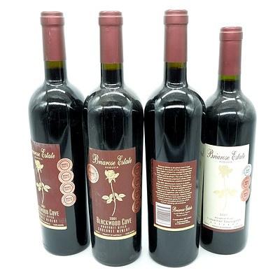 Briarose Estate Blackwood Cove Margaret River - Lot of Four Bottles (4)