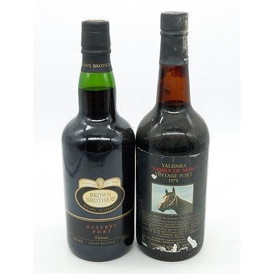 Marienberg Tawny Port  and a Limited Release Aged Tawny - 750ml (2)