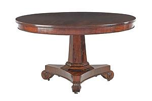 Important Tasmanian Blackwood and Musk Centre Table, Circa 1845