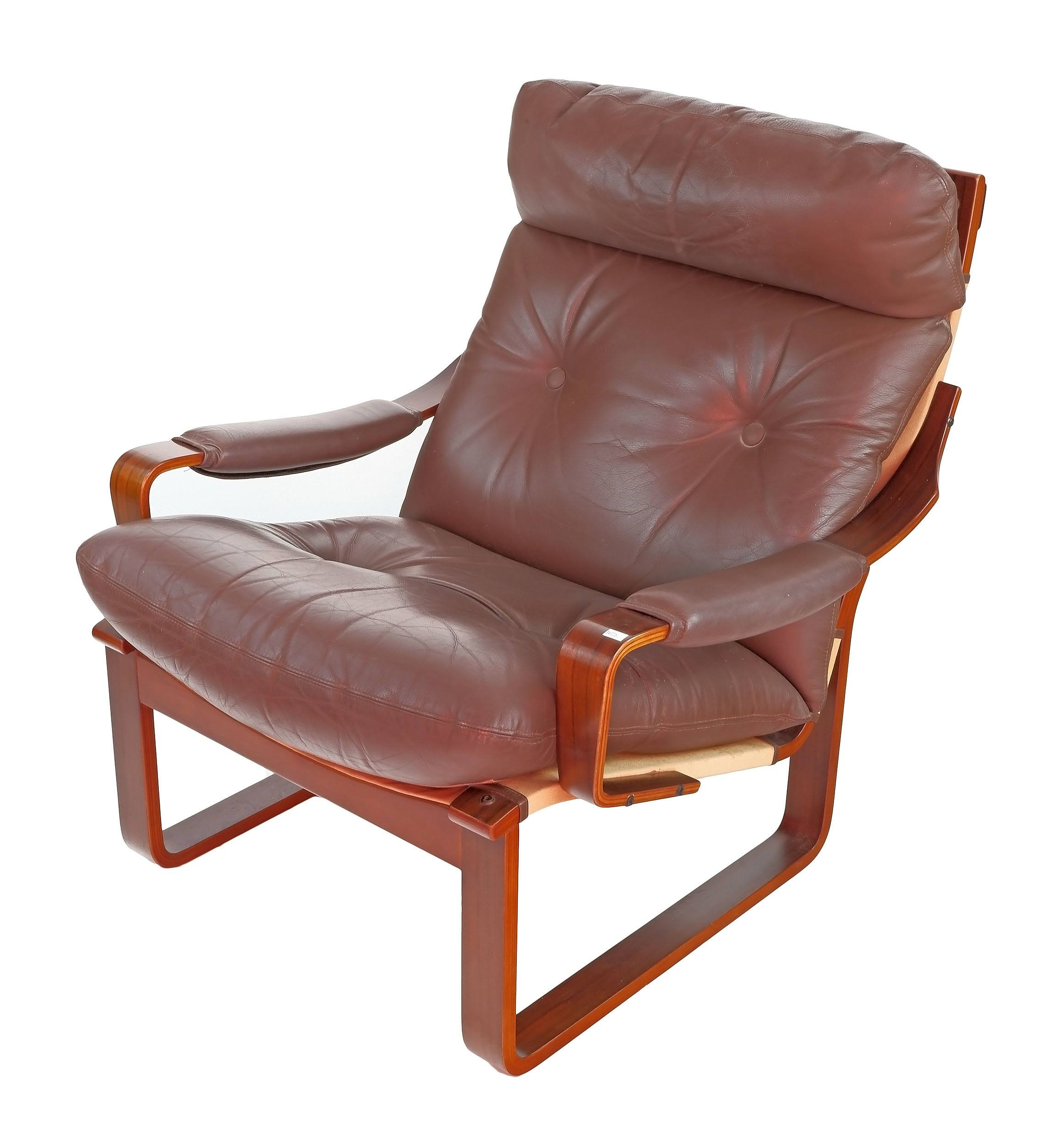 'Tessa T8 Armchair, Designed by Fred Lowen'