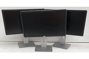 Dell (P2214Hb) 22-Inch Full HD (1080p) Widescreen LED-Backlit LCD Monitor - Lot of Three
