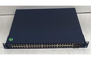 Netgear (GS748TP V1H2) ProSafe 48-Port Gigabit Smart Switch w/ PoE Ports