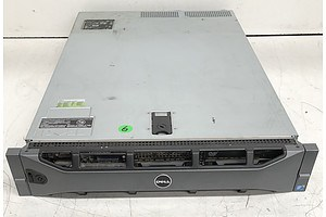 Dell PowerEdge R710 Dual Hexa-Core Xeon (E5645) 2.40GHz CPU 2 RU Server