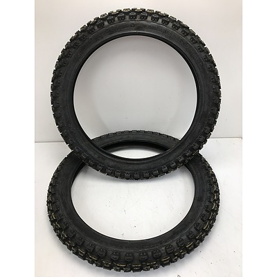 Vee Rubber Motorbike Tyres -Lot Of Two