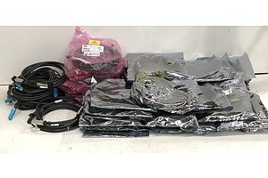 Bulk Lot of Assorted Server High Speed Date Cables