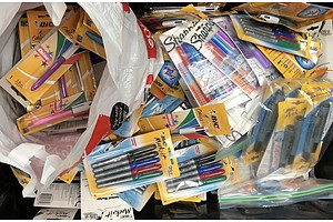 Bulk Lot of Assorted Sealed Stationary & Dymo Label Makers