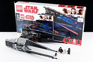 Star Wars Lego Kylo Ren's Tie Fighter (75179) with Box and Booklet
