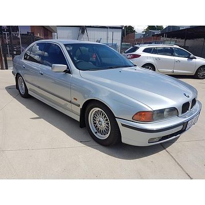 10/1996 BMW 535i  4d Sedan Silver 3.5L