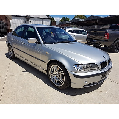 1/2003 BMW 330i E46 4d Sedan Silver 3.0L
