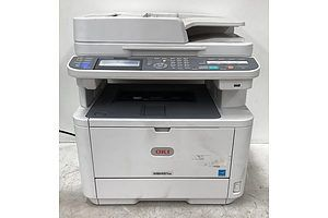 OKI MB451w Black & White Multi-Function Printer