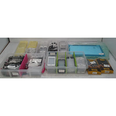 Large Assortment Of Mobile Phone Accessories Including iPhone & Samsung