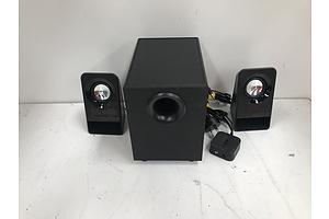 Logitech 14W Computer Speakers
