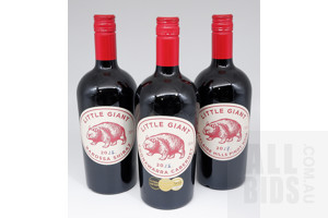 Three Bottles of Little Giant Adelaide Hills Red Wines (3)