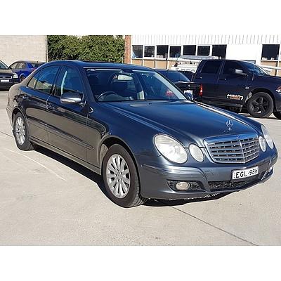 8/2006 Mercedes-Benz E280 CDI Elegance 211 UPGRADE 4d Sedan Grey 3.0L