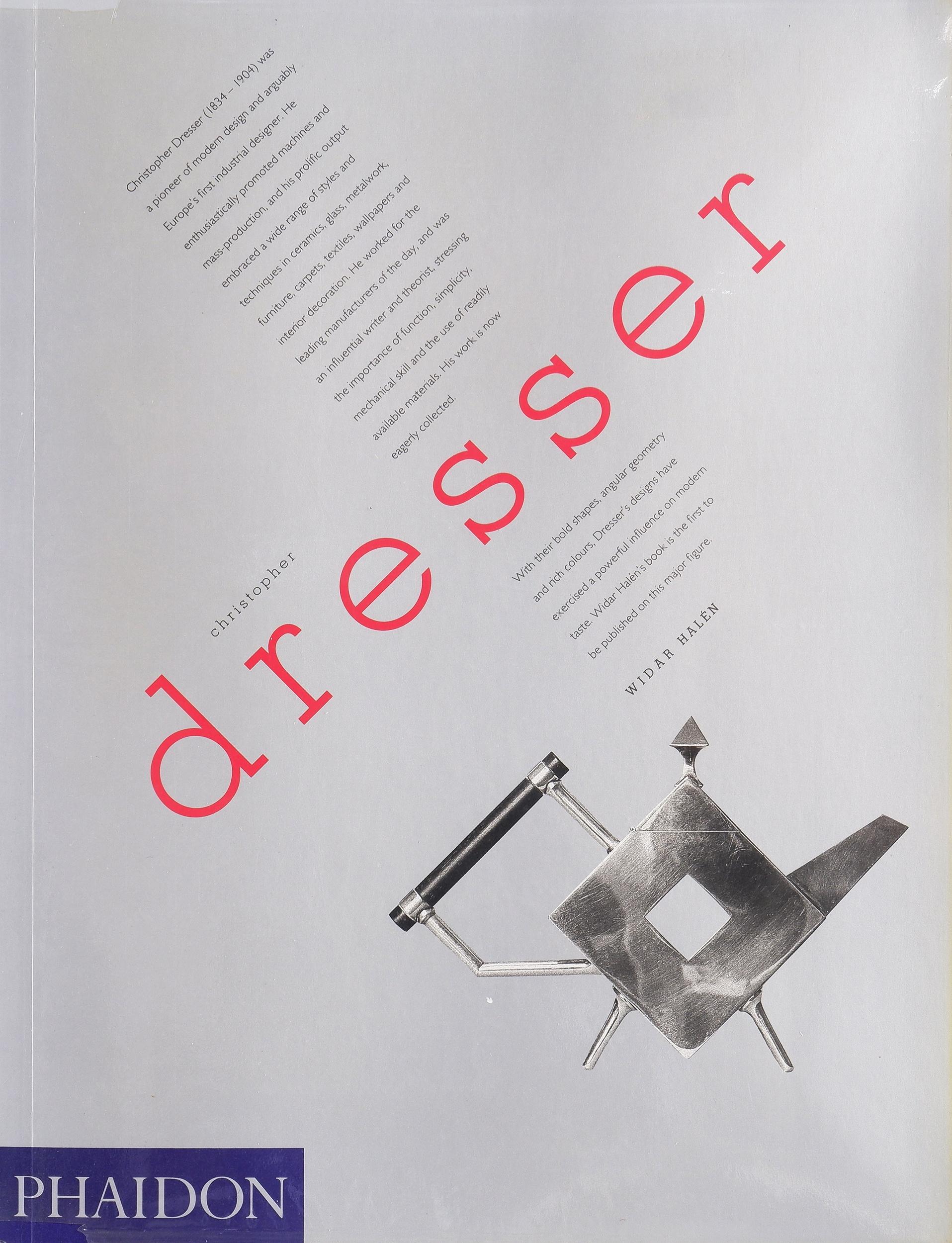 'Widar Halen, Christopher Dresser, Phaidon'