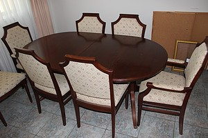 Chiswell Nine Piece Dining Setting