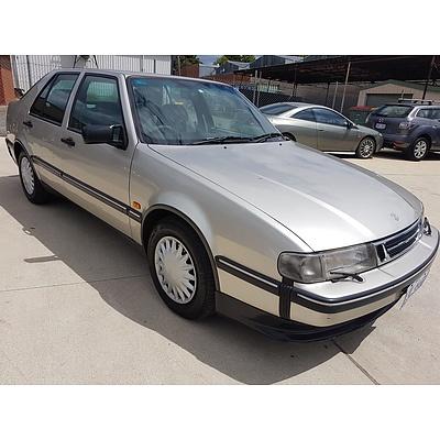 12/1996 Saab 9000 CS  4d Hatchback Silver 2.3L