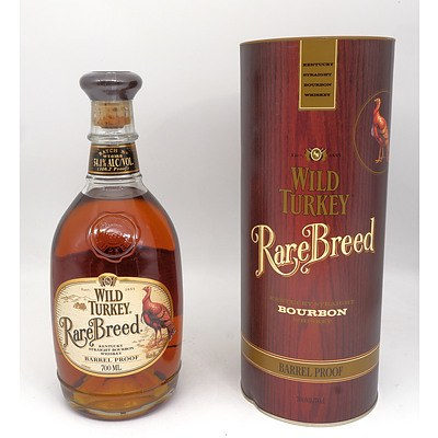 Wild Turkey rare Breed Barrel Proof Kentucky Bourbon Whiskey - 700ml in Presentation Box