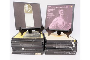 Quantity of Approximately 20 Box Set Vinyl LP Records Including Haydn, Delius, Handel