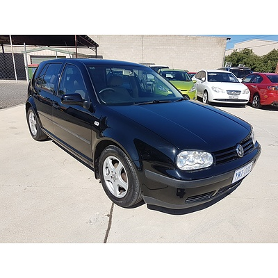 12/2000 Volkswagen Golf  Silver 1.6L