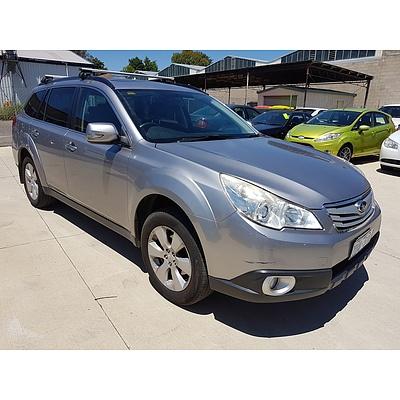 2/2010 Subaru Outback 2.5i Premium (sat-nav) MY10 4d Wagon Silver 2.5L