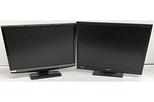 Samsung S24A450BW 24-Inch LCD Monitor & Gateway FHX2300 23-Inch Full HD (1080p) LCD Monitor