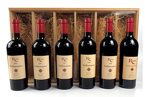 Roche Tallawanta Hunter Valley Old Vine Shiraz - Set of Six Bottles 1995-2000 in Timber Display Case