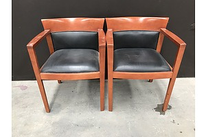 Pair Of Bernhardt Guest Chairs