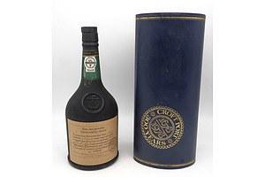 Croft Port Bottle No 005980 750ml in Presentation Case with Certificate
