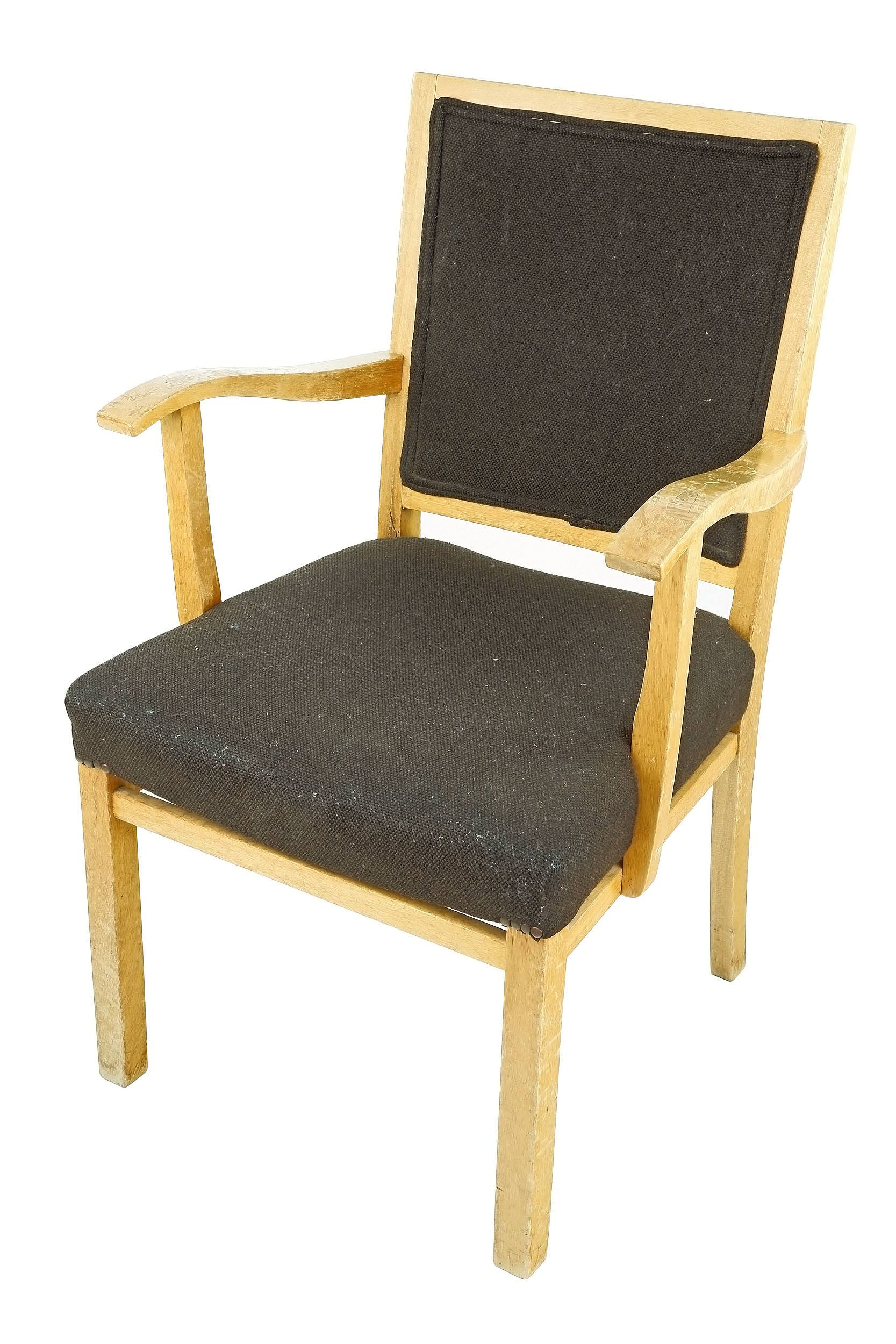 'Fred Ward Maple Armchair, Probably Manufactured by Kees Westra 1950s'