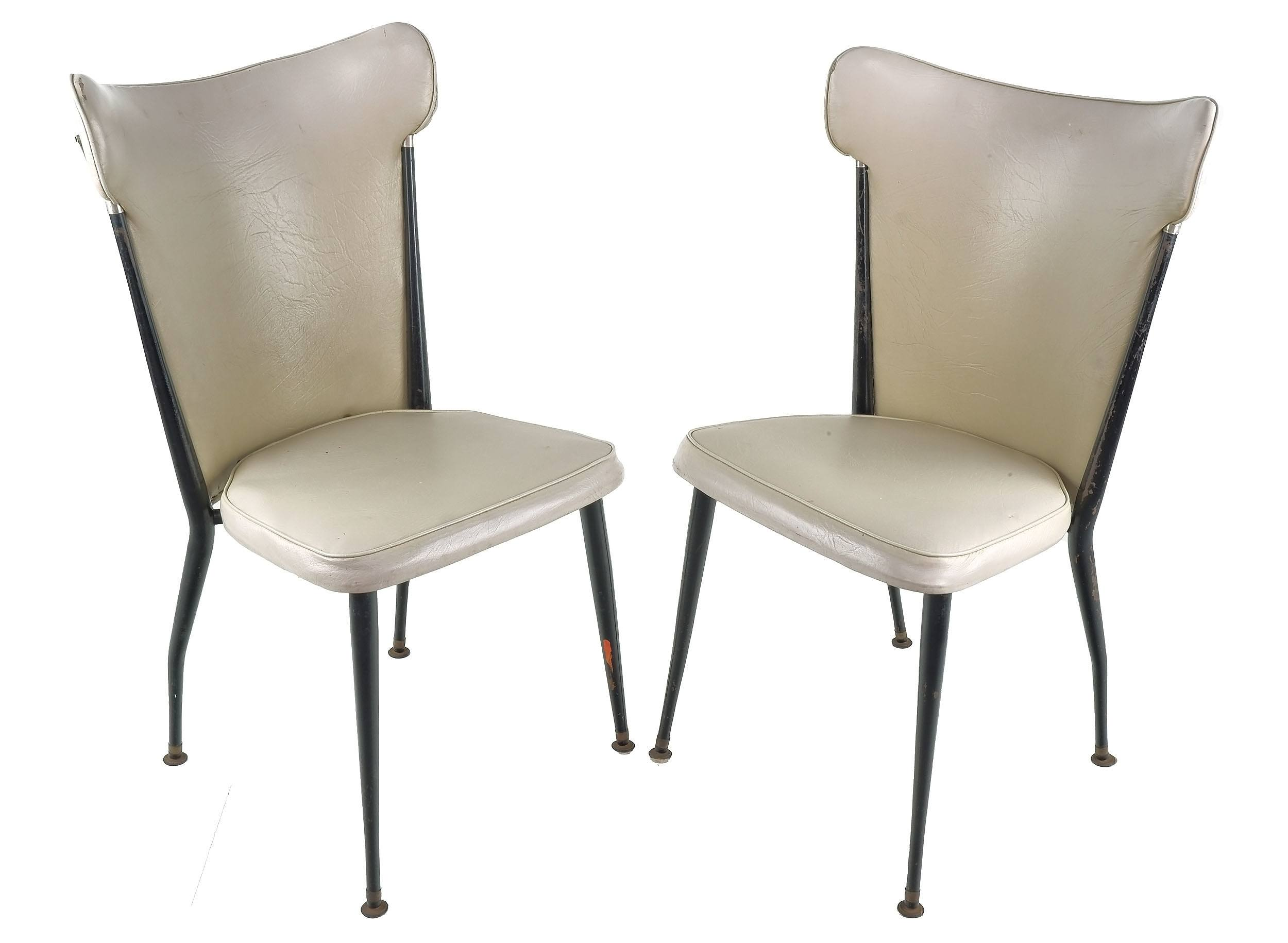 'Pair of High Back Aristoc Style Chairs, Circa 1970s'