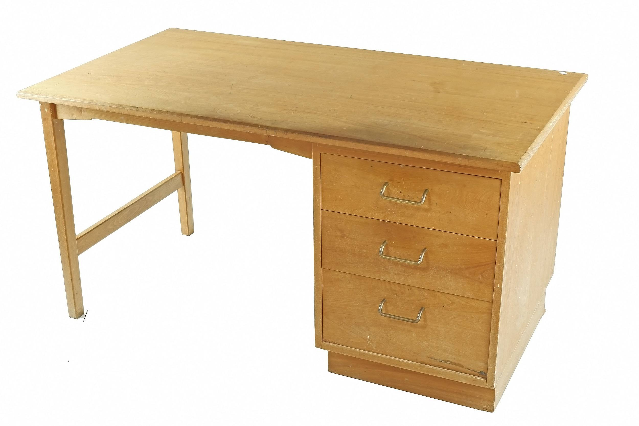 'Fred Ward ANU Victorian Ash Students Desk'