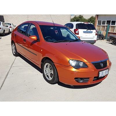 10/2011 Proton Gen.2 G CM MY09 5d Hatchback Orange 1.6L