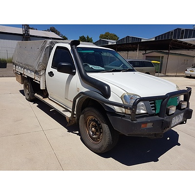 5/2005 Holden Rodeo DX (4x4) RA MY05.5 UPGRADE C/chas White 3.0L
