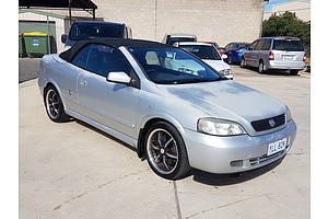 5/2003 Holden Astra Convertible Turbo TS 2d Convertible Silver 2.0L