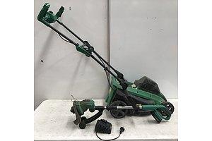 Gardenline 20V Lawn Mower and 18V Line Trimmer