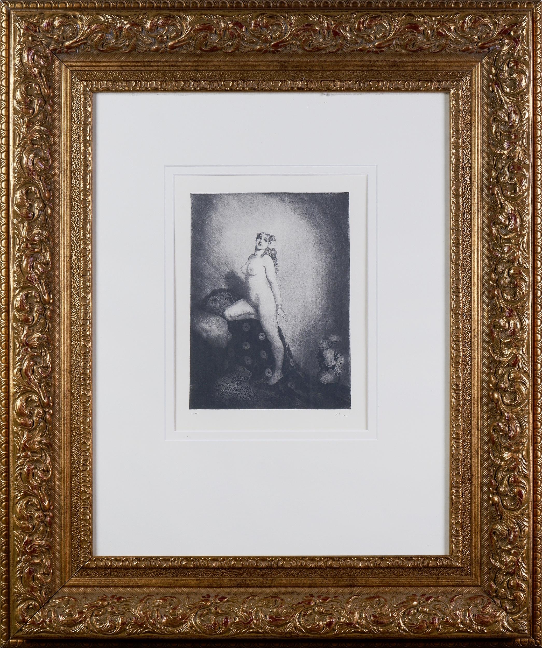 'Norman Lindsay (1879-1969), Memories, Facsimile Etching, 24 x 18 cm (image size)'