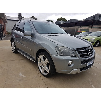 7/2011 Mercedes-Benz ML350 CDI (4x4) 164 MY11 4d Wagon Grey 3.0L